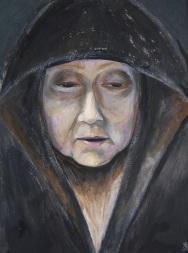 Rembrandtsvrouw (ingelijst)